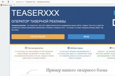 Настрою и запущу для Вас Тизерную рекламу в 2 тизерных сетях 9 - kwork.ru
