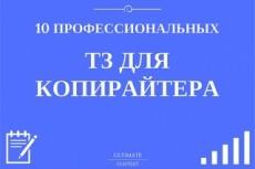 Составлю 5 профессиональных ТЗ копирайтеру на рерайтинг 6 - kwork.ru