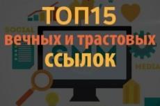 Ручной прогон по 20 сайтам с общим тиц 22350 4 - kwork.ru