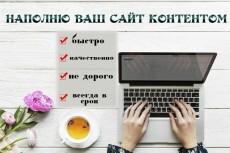 Контент менеджер 20 - kwork.ru