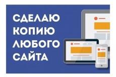 Скопировать Landing page, одностраничный сайт, посадочную страницу 36 - kwork.ru