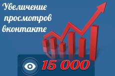 555 подписчиков на паблик, группу Вконтакте 19 - kwork.ru