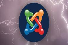 Разработка сайта на CMS Joomla 31 - kwork.ru