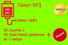 30 внешних ссылок - Пакет 2 15 - kwork.ru