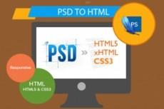 Html верстка сайта по PSD макету 18 - kwork.ru