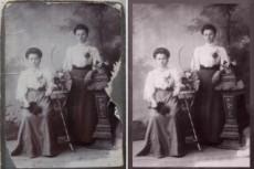 Реставрация и ретушь старых фотографий любой сложности 19 - kwork.ru