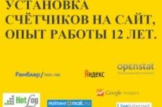 Подключу инструменты статистики и аналитики 4 - kwork.ru