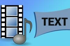 Быстро,качественно и в срок наберу текст, расшифрую аудио,видео запись 20 - kwork.ru
