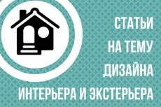 Статьи дизайн. Напишу статью на тему дизайна 8 - kwork.ru