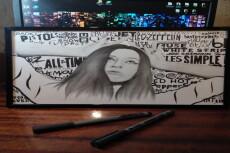 Рисую портреты графитовым карандашом 21 - kwork.ru
