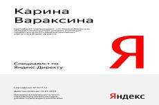 Оптимизирую яндекс-директ для показов в РСЯ 7 - kwork.ru