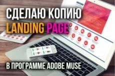 Сделаю красивый сайт на платформе Adobe Muse 23 - kwork.ru