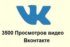 6000 просмотров видео в ВКонтакте 6 - kwork.ru