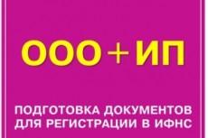 Подготовлю документы для регистрации ООО или ИП 13 - kwork.ru