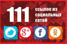 105 социальных сигналов на ваш сайт 12 - kwork.ru