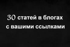 Ручной прогон по 20 сайтам с общим тиц 22350 8 - kwork.ru