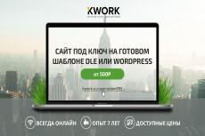 Создам сайт на DLE + SEO-оптимизация в подарок 14 - kwork.ru