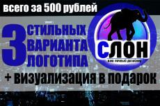 Дизайн логотипа + визуализация 27 - kwork.ru