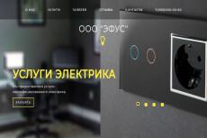 Готовый сайт Landing Page Услуги патронажа 21 - kwork.ru
