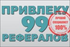 Привлеку 20 рефералов в Ваши проекты или сервисы 38 - kwork.ru
