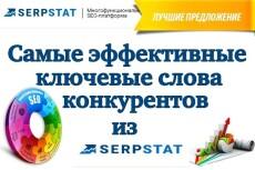 Выгружу информацию о рекламной компании конкурентов в Яндекс Директ 6 - kwork.ru