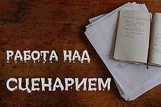 Сценарий аудиоролика. Сценарий видеоролика 9 - kwork.ru