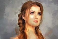 Портрет по фото 19 - kwork.ru