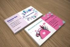 Дизайн визитки 60 - kwork.ru