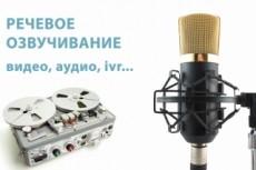 Информационный аудио ролик 11 - kwork.ru