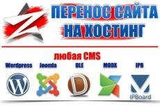 Переносу сайта на другой домен 34 - kwork.ru