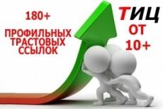 Ваша статья с вечной ссылкой на трастовых сайтах 19 - kwork.ru