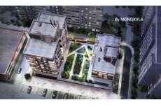 3D схема коттеджного посёлка 71 - kwork.ru