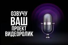 Быстро и недорого озвучу любой ваш заказ , блог, рекламу, персонажа 12 - kwork.ru