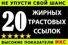 Вечные жирные профильные ссылки, тематики - бизнес финансы 8 - kwork.ru