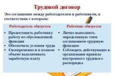 Составлю трудовой договор 4 - kwork.ru