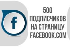 800 русских подписчиков на страницу Facebook 4 - kwork.ru