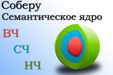 Семантическое ядро, кластеризация, стоп-слова, анализ конкуренции фраз 18 - kwork.ru
