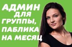 Стану редактором вашей группы паблика на 15 дней в ВК 29 - kwork.ru