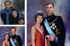 Портрет трафарет для плоттерной резки 44 - kwork.ru