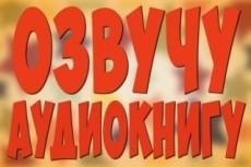 Записываю озвучки, аудиорекламу, аудиокниги и мн.др. Муж. и жен. голоса 22 - kwork.ru