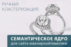 Качественно подберу семантическое ядро интернет-магазина (сайта каталога) 21 - kwork.ru