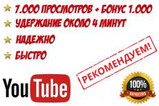 Добавлю 5000 просмотров на ваш видео Youtube 23 - kwork.ru