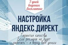 Настройка и ведение 1-центовой кампании 8 - kwork.ru