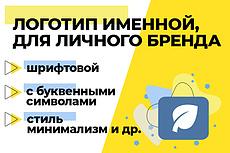 Сделаю ваш именной логотип 7 - kwork.ru