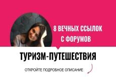 Семь вечных, уникальных ссылок с моих форумов 17 - kwork.ru