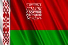 Крауд-ссылки - ручное размещение 10 ссылок на АВТО форумах 11 - kwork.ru