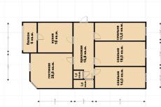 Сделаю 2 варианта планировки вашей квартиры или дома 16 - kwork.ru