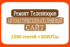 Новости и СМИ 1500 статей автонаполняемый сайт 16 - kwork.ru
