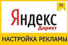Настройка Яндекс.Директ под ключ до 150 фраз на поиске и РСЯ 13 - kwork.ru