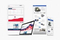 Готовый дизайн сайтов любой тематики не дорого 9 - kwork.ru